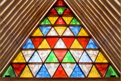 'Cardboard Cathedral Window' by Peter Crook
