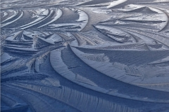 'Car Roof Icescape' by Mike Thurner