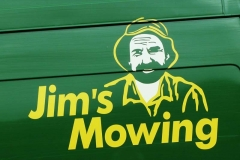 'Jim's Mowing' by Millicent Lake