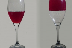 'Glass Half-Full Half-Empty' by Mike Thurner