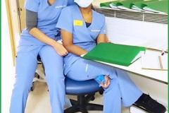 'Nurses' by Faith Docker