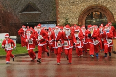 'Santa Run Start' by Paul Smith