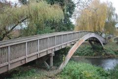 'Brockham Footbridge' by David Ager