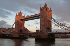 'Sunset on Tower Bridge' by Millicent Lake
