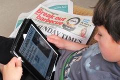 'iPad Times' by Jonathan Grant