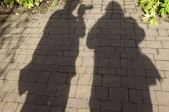 'Me and My Shadow' by Caroline Brown