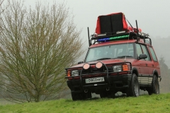 'Landrover Mobile Disco' by Paul Smith