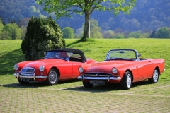 'MGA & Sunbeam Tiger' by Paul Smith