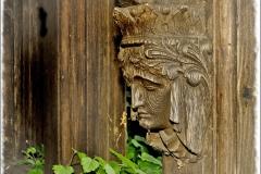 'Lych Gate detail' by Angela Rixon