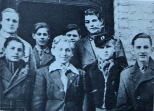 Young members of the Churchill Group, who were a thorn in the side of the occupying forces