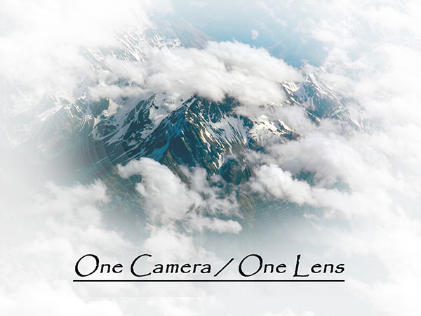 One Camera One Lens