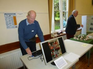 The Photography and Archaeology groups set out their stalls