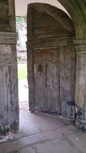 The doors at Godolphin
