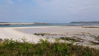 Samson's long, beautiful beaches