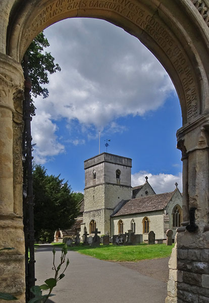 'Arch to Betchworth Church' by Mike Thurner