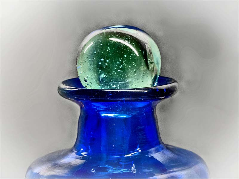 'Green Marble' by Angela Rixon