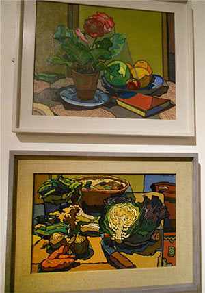 From the Cyril Mann exhibition at the Lightbox, Woking, in March 2019