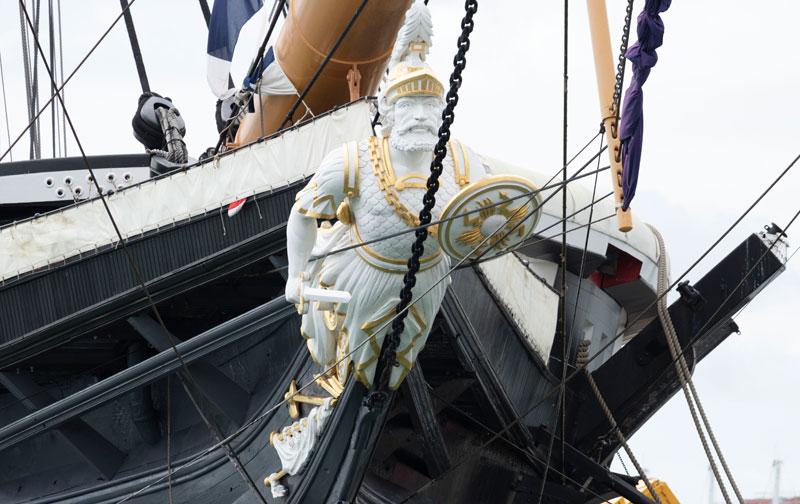 Figurehead, HMS Victory (Bob Brown)