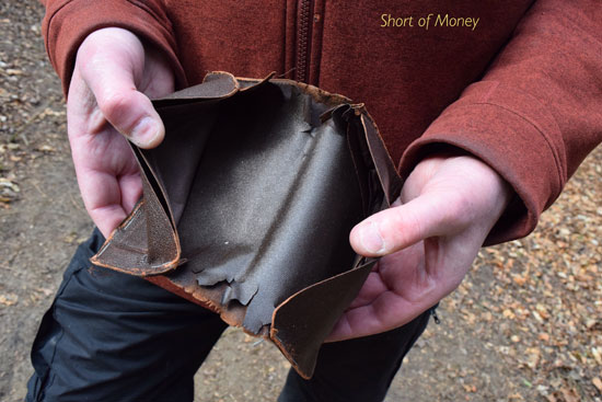 Short of money (Robert Edmondson)